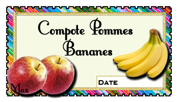 Compote pommes bananes copie