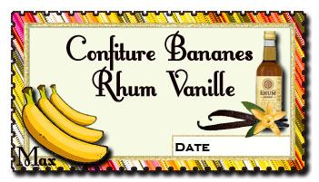 Confiture de bananes rhum vanille copie