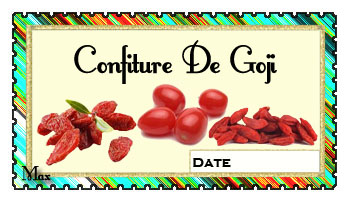 Confiture de goji copie