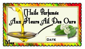 I huile parfumee aux fleurs ail des ours copie